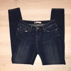 Levi's 535 legging skinny jeans